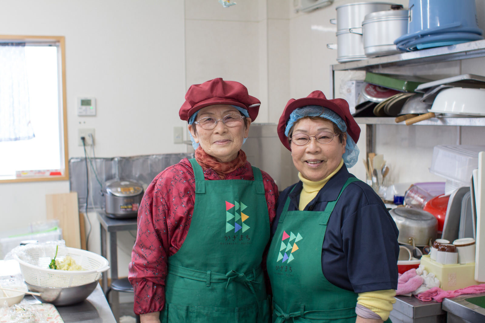 左:辻岡節子さん 右:西木幸子さん